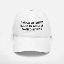Nation of Sheep Baseball Baseball Cap