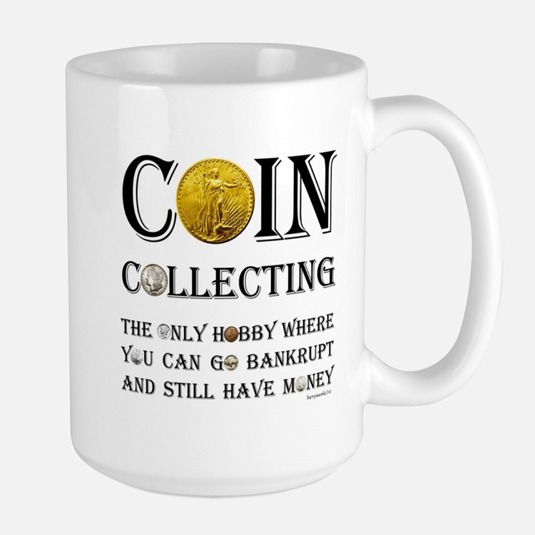 Coin Collecting Mug