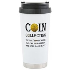 Coin Collecting Travel Mug