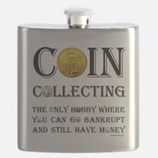 Coin Collecting Flask