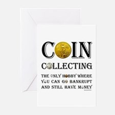 Coin Collecting Greeting Cards (Pk of 20)