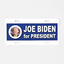 Joe Biden for President 201 Aluminum License Plate