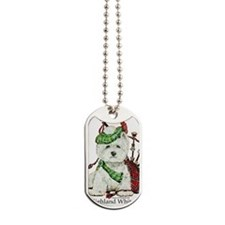 Highland Westie Dog Tags