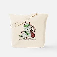 Highland Westie Tote Bag