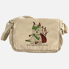 Highland Westie Messenger Bag