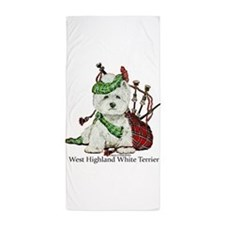 Highland Westie Beach Towel