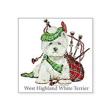 Highland Westie Sticker