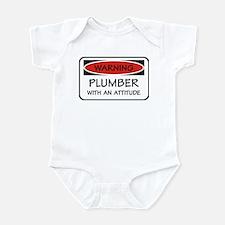 Attitude Plumber Infant Bodysuit