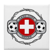Switzerland Soccer Tile Coaster