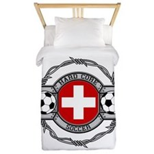 Switzerland Soccer Twin Duvet