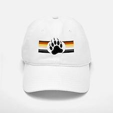 Gay Bear Pride Stripes Bear Paw Baseball Baseball Baseball Cap