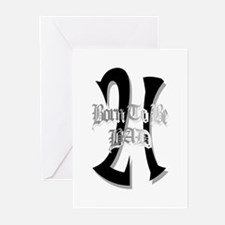 Born To Be 21 Greeting Cards (Pk of 10)