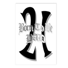 Born To Be 21 Postcards (Package of 8)