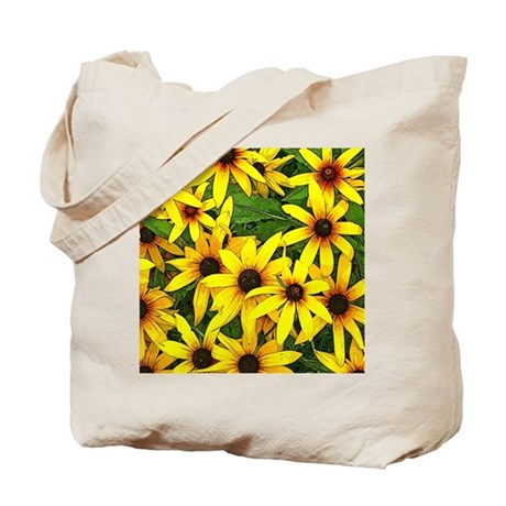 Happy Wildflowers for Any Mood Tote Bag