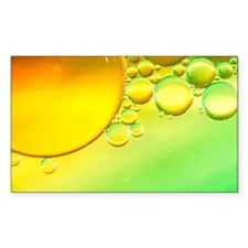 Abstract Sun Bubbles Decal