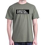A gun in the hand Dark T-Shirt