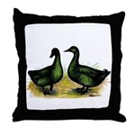Cayuga Ducks Throw Pillow