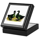 Cayuga Ducks Keepsake Box