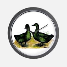Cayuga Ducks Wall Clock