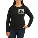 Cayuga Ducks Women's Long Sleeve Dark T-Shirt