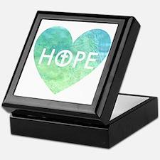 Hope in Jesus Heart Keepsake Box