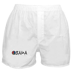 Obama Peace Boxer Shorts