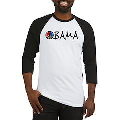 Obama Peace Baseball Jersey