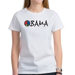 Obama Peace Women's T-Shirt