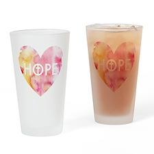 Hope in Jesus Drinking Glass