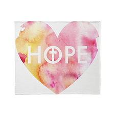 Hope in Jesus Throw Blanket