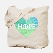 Hope in Jesus Tote Bag