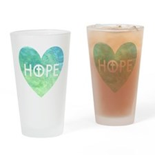 Hope in Jesus Drinking Glass