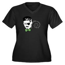 Joyce Ulysses Quote Plus Size T-Shirt