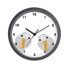 Goose Who Wall Clock
