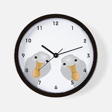 Goose Who Wall Clock