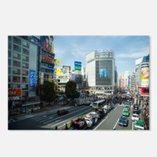 shibuya crossing Postcards (Package of 8)