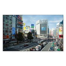 shibuya crossing Decal