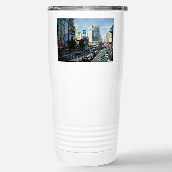 shibuya crossing Stainless Steel Travel Mug