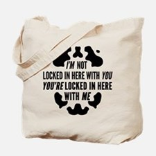 Rorschach Locked In Watchmen Quote Tote Bag