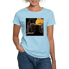 Loki and Sigyn Women's Pink T-Shirt