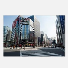ginza crossroads Postcards (Package of 8)