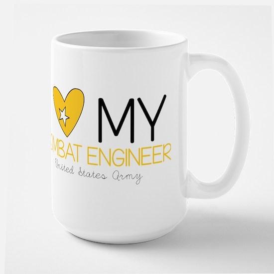 I Love My Combat Engineer Mugs
