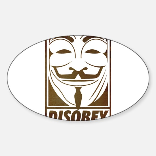 disobey Decal