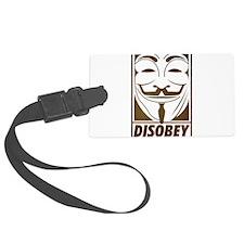 disobey Luggage Tag