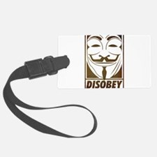 disobey Luggage Tag
