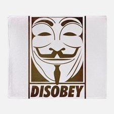 disobey Throw Blanket