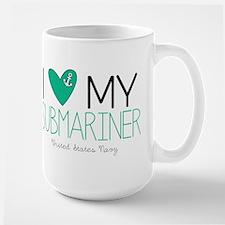 I Love My Submariner Mugs