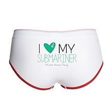 I Love My Submariner Women's Boy Brief