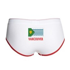 Vancouver BC Flag Women's Boy Brief