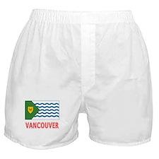 Vancouver BC Flag Boxer Shorts
